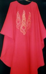 Celtic Flame Chasuble